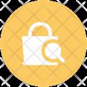 Search Bag Purse Icon