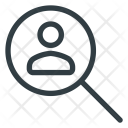 Search Magnifying Job Icon