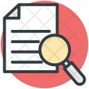 Search Document Magnifier Icon