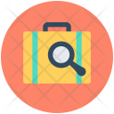 Search Briefcase Bag Icon