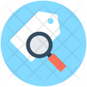 Search Tag Magnifying Icon