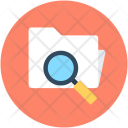 Search Folder Magnifying Icon