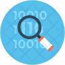 Search Binary Code Icon