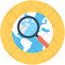 Search Location International Icon