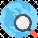 Search Location Earth Icon