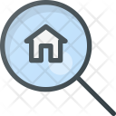 Search Apartment House Icon
