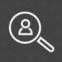 Search User Find Icon