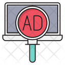 Ads Marketing Search Icon