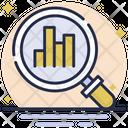 Search Analysis Analysis Search Icon