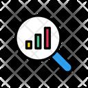 Graph Chart Search Icon