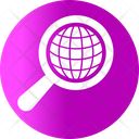 Analysis Business Global Research Icon