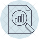 Business Document Search Icon