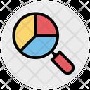 Search Analysis Analysis Analytics Icon