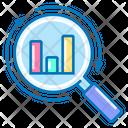 Analysis Analytics Magnifier Icon