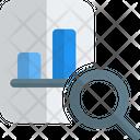 Search Analysis Graph Search Graph Icon