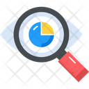 Analysis Magnifier Search Icon