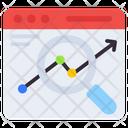 Search Analysis Web Analysis Search Statistics Icon