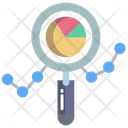 Search Analysis Search Analytics Search Graph Icon