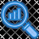 Search Analysis Analysis Search Graph Icon
