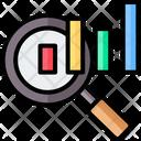 Benchmark Bar Chart Data Analysis Icon