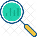 Search Analytics Marketing Analytics Magnifying Glass Icon