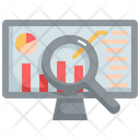 Statistics Business Graph Icon