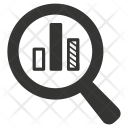 Bar Search Analyze Icon