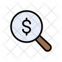 Audit Search Dollar Icon
