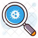 Search Bacteria Icon