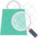 Search Bag Shopping Icon