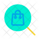 Bag Find Search Icon