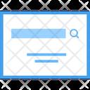 Search Bar Search Engine Address Bar Icon