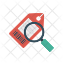 Search Bar Code Tag Icon