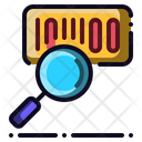 Search Barcode Scan Icon