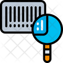Search Barcode Scanning Logistics Icon