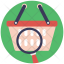 Search Basket Online Icon