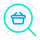 Basket Find Search Icon