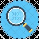 Search Binary Binary Code Barcode Icon