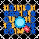Research Binary Code Icon