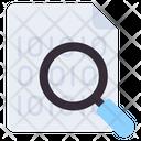 Search Binary Data Icon