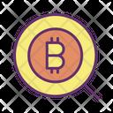 Search Search Bitcoin Find Bitcoin Icon