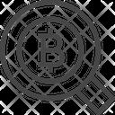 Search Bitcoin Bitcoin Find Icon