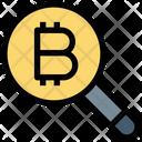 Search Bitcoin Bitcoin Search Icon