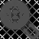 Search Bitcoin Search Bitcoin Bitcoin Research Icon