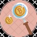 Search Bitcoin Icon