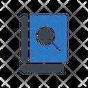 Search Book Magnifier Icon