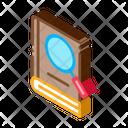 Book Search Study Icon