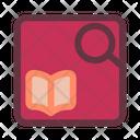 Search Book Book Search Icon