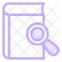 Book Search Searching Icon