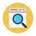 Search Browser Webpage Icon